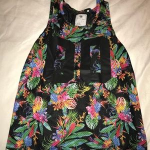 Floral Basketball Jersey